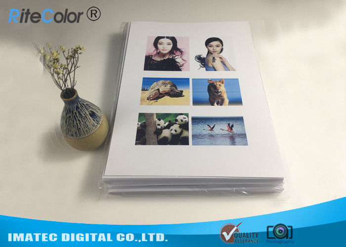 A4 Double Sided Resin Coated Photo Paper For Canon Epson Desktop Printers