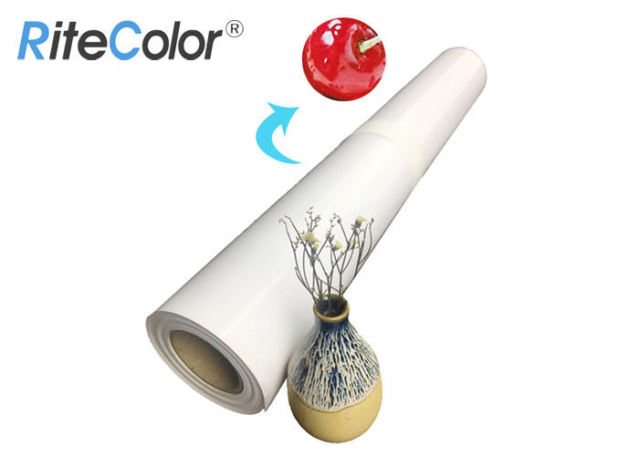 Wide Format RC Glossy Resin Coated Photo Paper A3 A4 Roll Inkjet Printing