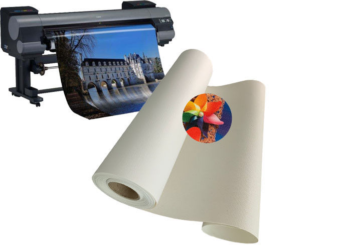 Wide Format Blank Matte Inkjet Cotton Canvas Roll For Digital Printing