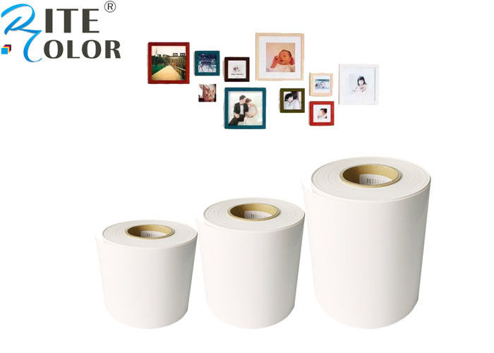 Digital Inkjet Printing Minilab Photo Paper Roll Resin Coated ISO9001